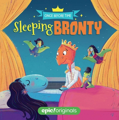 Sleeping Bronty (Once Before Time Book 2) (Board book) - Andrews McMeel Publishing, 9781524855710, 32pp.